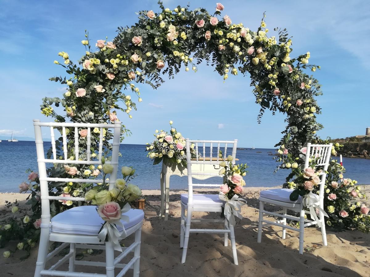 South Sardinia Nora Beach Wedding
